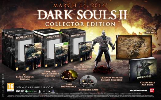 Collector's Edition and a final release date announced for Dark Souls II