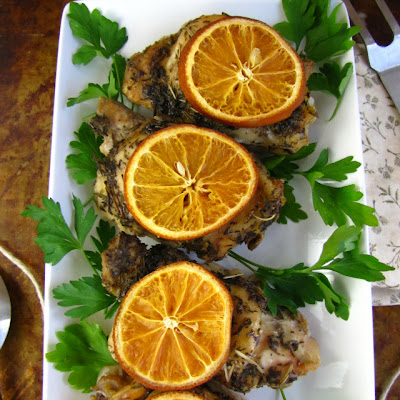 Savory Citrus Chicken – Slow Cooker