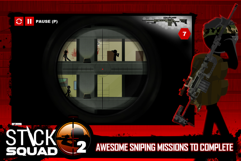 Stick Squad 2 - Shooting Elite Screenshot 2