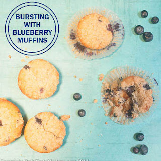 Bursting with Blueberry Muffins