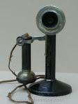 Candlestick Phones - Swedish-American 2 Candlestick $225