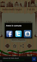 Screenshot of Italian Riddles