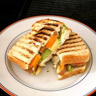 Sweet Potato and Avocado Sandwich
