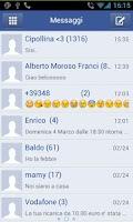 Screenshot of GO SMS pro Facebook FREE