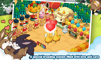 Screenshot of LINE TINYFARM