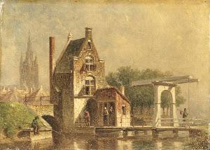 RIJKS: Petrus Gerardus Vertin: painting 1892