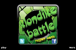 Screenshot of Klondike Battle Russian Bank