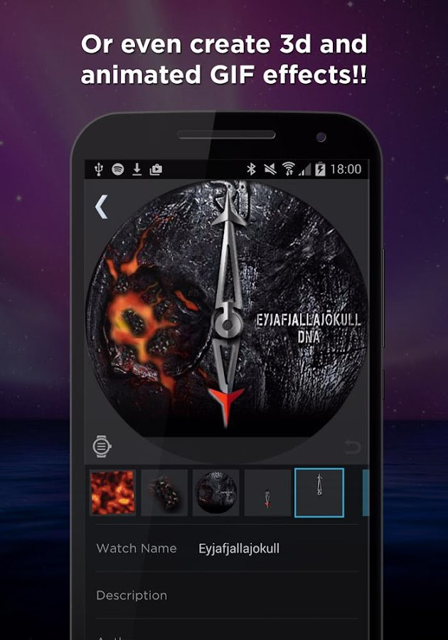 WatchMaker Premium Watch Face Screenshot 5