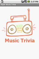 Screenshot of Super Music Trivia