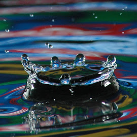 colored splash by Jagdish Singh - Abstract Water Drops & Splashes ( splash, water drop,  )