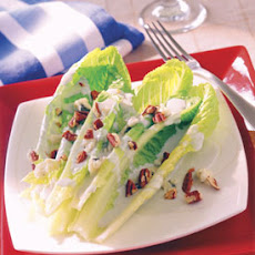 Hearts of Romaine with Roquefort and Toasted Pecans