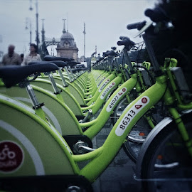Rent a bike .... by Asaf Hofman - Transportation Bicycles