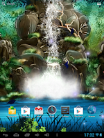 Screenshot of 3D Waterfall Live Wallpaper FR