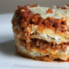 Beef and Cheese Ravioli Bake