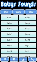 Screenshot of Babys Sounds