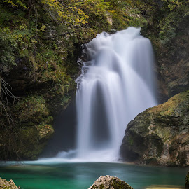 Waterfall Noise by Igor Debevec - Landscapes Waterscapes (  )