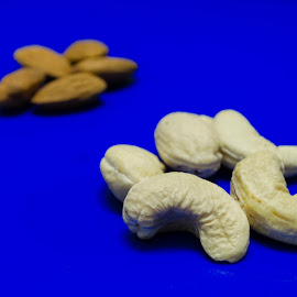 Cashews by Nitish Saini - Food & Drink Ingredients ( ingredients, almond, food and drink., food, dry fruits, cashew,  )