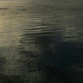 Ocean stillness by Melissa Pilar - Abstract Light Painting