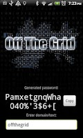 Screenshot of Off the grid