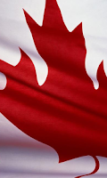 Screenshot of Canadian Flag Wallpapers