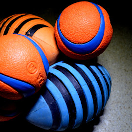 by Dia Helen - Artistic Objects Toys ( blue, orange. color )