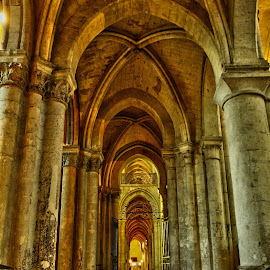noyon cathedral, FR by Marc Ella - Buildings & Architecture Statues & Monuments