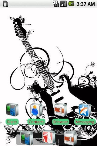 Guitar Wave [SQTheme] for ADW