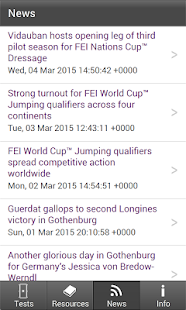 FEI EquiTests 2 - Eventing- screenshot thumbnail