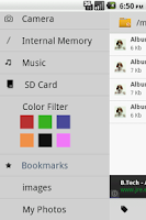 Screenshot of B - File Manager