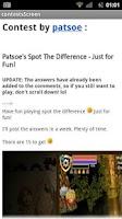 Screenshot of PL Community App
