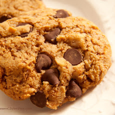 Gluten-Free Chocolate Chip Almond Cookies