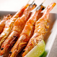 Grilled Shrimp with Lemongrass Marinade