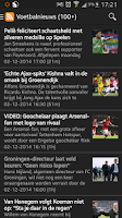 Screenshot of Feyenoord App
