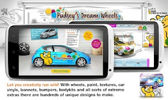 Screenshot of Pudsey's Dream Wheels