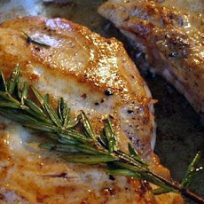 Pork Chops with Rosemary-Vinegar Sauce