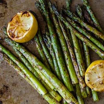 Gluten Free Smoked Paprika Grilled Asparagus