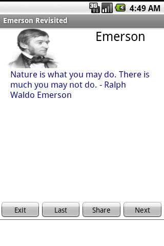 Emerson Revisited