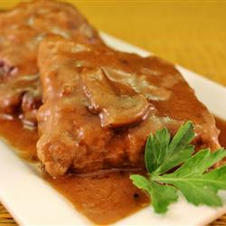 Baked Fake Steak with Gravy