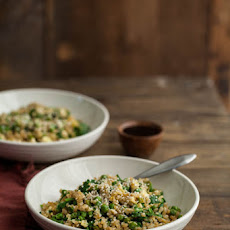 Spinach and Pea Fried Rice