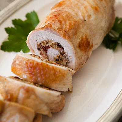 Stuffed Roast Turkey Breast