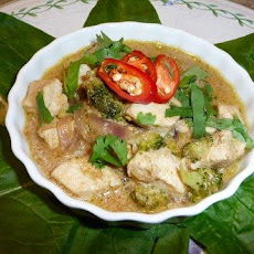 Thai Green Chicken Curry (Diabetic Friendly) (Sugarless)