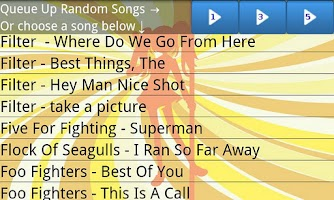 Screenshot of Karaoke-A-GoGo