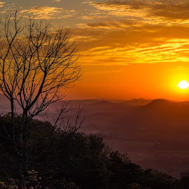 Sunset in Caieiras SP by Marcelo Marcelino - Landscapes Sunsets & Sunrises ( sao paulo, big sky, color, caieiras, sunset,  )