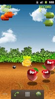 Screenshot of Bombs On Apples Free LWP