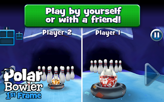 Screenshot of Polar Bowler 1st Frame