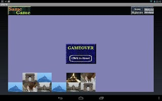 Screenshot of SameGame