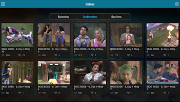 Screenshot of Bigg Boss Official