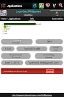 Screenshot of Pinoy applications