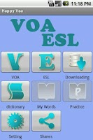 Screenshot of Happy VOA-ESL - Learn English