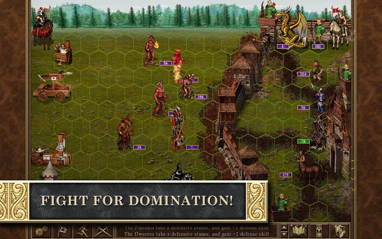 Скачать игру Герои Меча и Магии 3 HD на андроид бесплатно полную версию - Heroes of Might and Magic